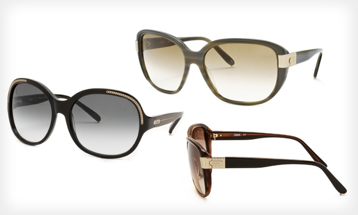 Chloé Sunglasses: Chloé Sunglasses (Up to 77% Off). Seven Options Available. Free Shipping and Free Returns.