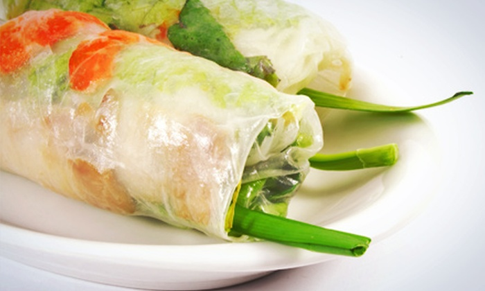Tasty Thai & Pho - Greenwood: $9.99 for Three Groupons, Each Good for $7 Worth of Thai and Vietnamese Food at Tasty Thai & Pho ($21 Total Value)