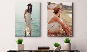 PHOTO GIFT (ES): 1, 2 o 4 foto-lienzos con tamaño a elegir desde 4,99 € con Photo Gift