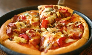 28% Off Pizza at Ruby's Pizzeria, plus 6.0% Cash Back from Ebates.