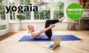Yogaia: 3-Months Access to Interactive Online Yoga Studio at Yogaia (Up to 93% Off)