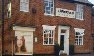 Lifestyle Salons - Milton Keynes: Cut and Finish with Shiatsu Head Massage or with Olaplex Treatment plus Optional Tint at Lifestyle Hair (Up to 53% Off)