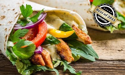 Mexikanisches Menü inklusive Fajitas mit Steakstreifen oder Garnelen für Zwei oder Vier im Pssst Bandido