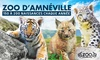 Entrées au au Zoo d'Amnéville