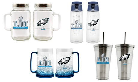 Philadelphia Eagles Super Bowl 52 NFL Champions Drinkware and Canister cf7e306e-a41e-477a-ba94-3d1933e51cc5