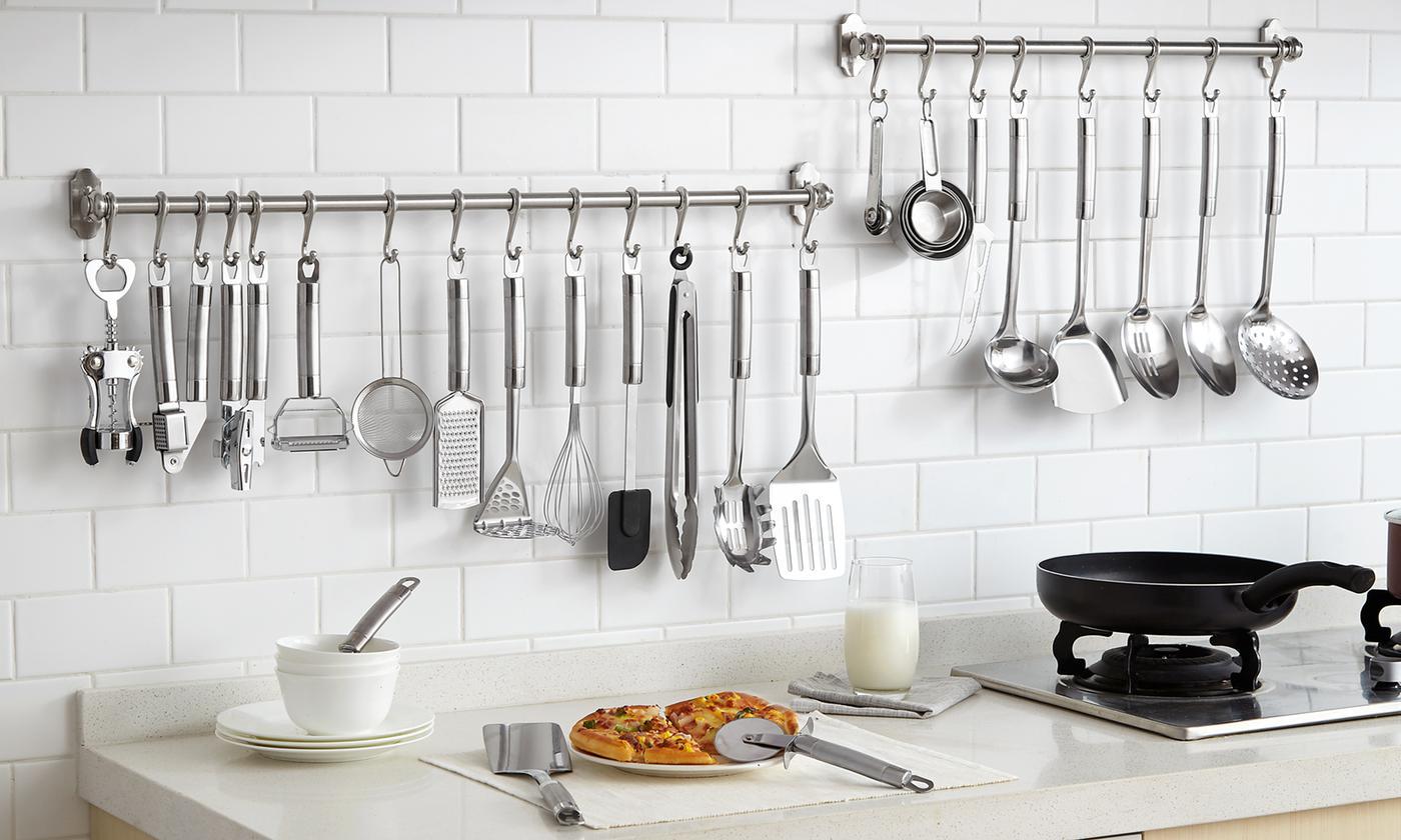 29-Piece Stainless Steel Kitchen Utensils Set