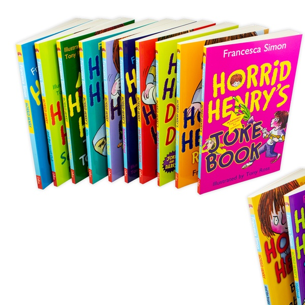 Horrid Henry's Cheeky Collection or Horrid Henry's Mischievous Mayhem  Collection Box Sets