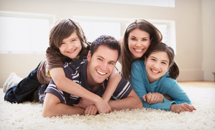 Carpet Cleaning for Three or Five Rooms from Clean Green (Up to 53% Off)