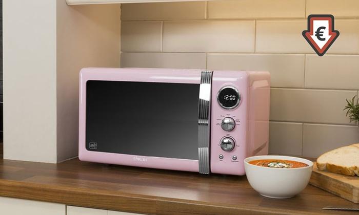 Swan Retro Style 20l Microwave
