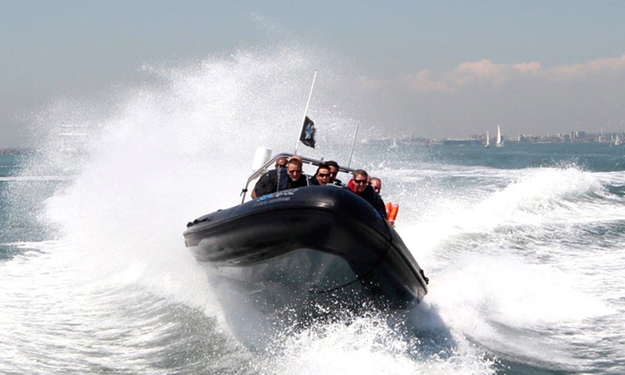 60- or 90-Minute Extreme RIB Ride for One, Two or Four with Seadogz (60% Off)