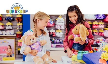 $9 to Spend in BuildABear Workshop Store, 17 Locations Nationwide
