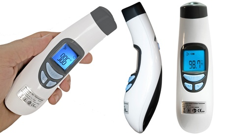Mobi DualScan Infrared Forehead No-Touch Digital Thermometer
