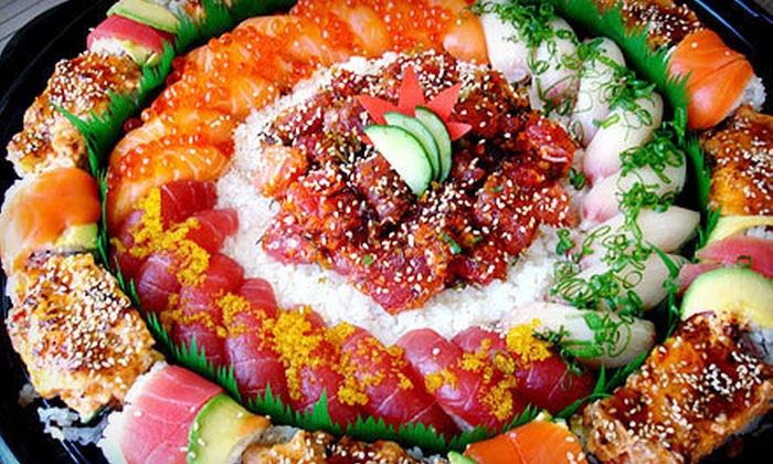 Obi Sushi - Reston: $15 for $30 Worth of Japanese Food and Sushi at Dinner at Obi Sushi