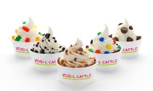 Yogi Castle: $11 for Four Groupons, Each Good for $5 Worth of Frozen Yogurt at Yogi Castle ($20 Total Value)