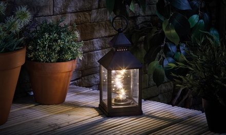 One, Two or Four Decorative LED Battery Lanterns