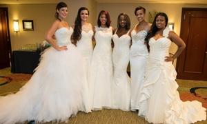 T. Rose International Bridal Shows: T Rose International Bridal Show on Sunday, October 23 or Sunday, December 11 at 12 p.m.