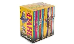 Roald Dahl Collection Paperback Book Boxed Set (15-Piece)