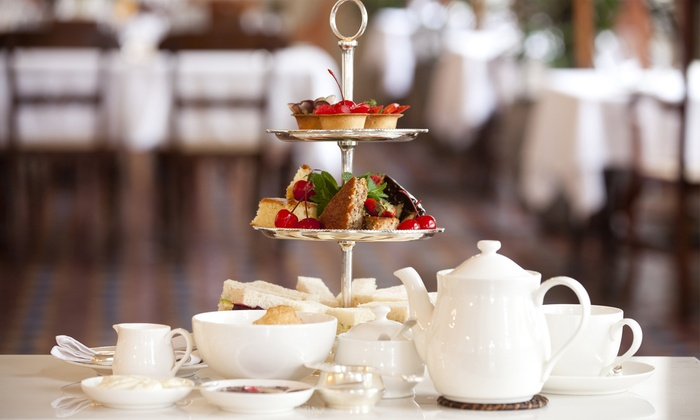 Newton House - Ashbourne: Sparkling Afternoon Tea for Two or Four at Newton House (Up to 45% Off)