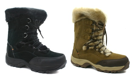 Women's Hi-Tec St. Moritz 200 Waterproof Winter Boots for £39.98 With Free Delivery (50% Off)