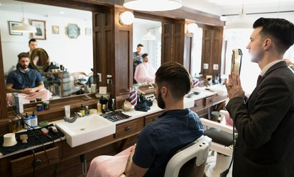 image for Hot-Towel Shave with Revitalising Treatment or Men's Grooming Package at Beauty 24 Fit