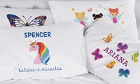 Custom Kids Pillowcases from Monogram Online (Up to 75% Off)