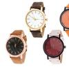 Brooklyn Exchange Men's Leather Strap Watch