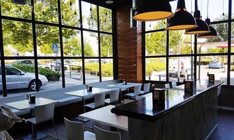 Menú de parrillada para 2 o 4 con entrante, parrillada, postre y bebida desde 29,99 € en Restaurante Al Punto