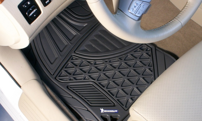 michelin all weather floor mats 4piece michelin all weather floor mats