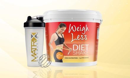Matrix Diät-Shake 1 kg in vier Geschmacksrichtungen (Duesseldorf)