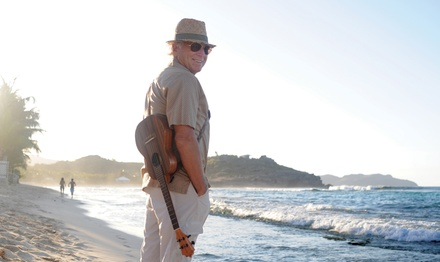 Jimmy Buffett & the Coral Reefer Band on Friday, July 13, at 7 p.m.