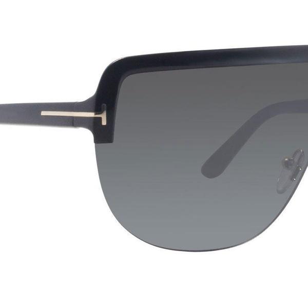69ed5bcf67c8 Tom Ford Shield Black-Gold Sunglasses | Groupon