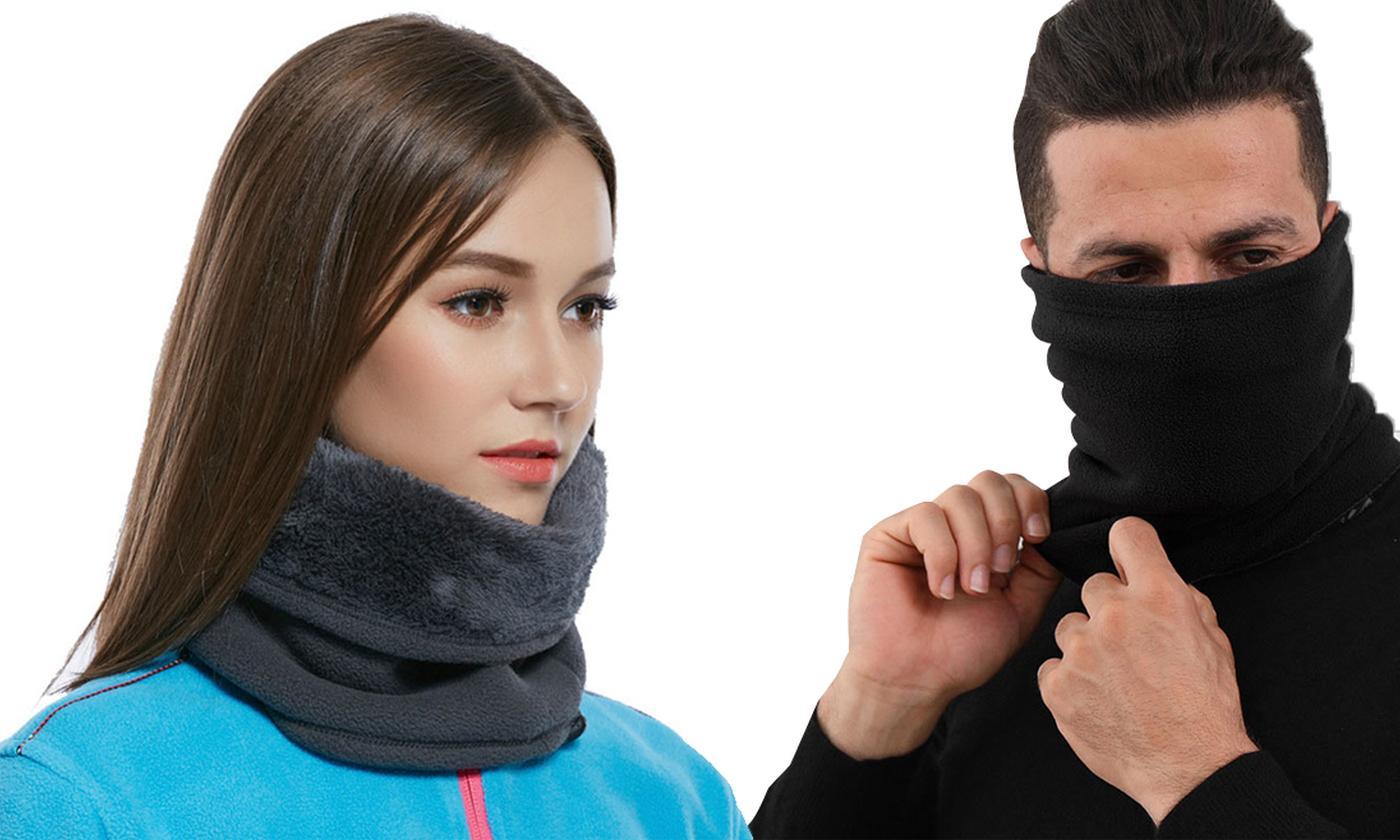 Two-in-One Fleece Snood-Hat