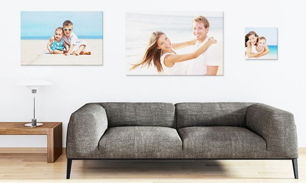 Personalised Canvas from £4.99 (Up to 78% Off)