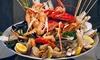 Il Re Del Mare - Torino: Esclusivo menu di mare Plateau Royal con astice, dolce e bottiglia di vino al locale Il Re Del Mare (sconto fino a 53%)