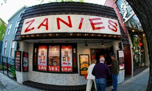Zanies Comedy Night Club: Standup Comedy Show at Zanies Comedy Club (Up to 60% Off)
