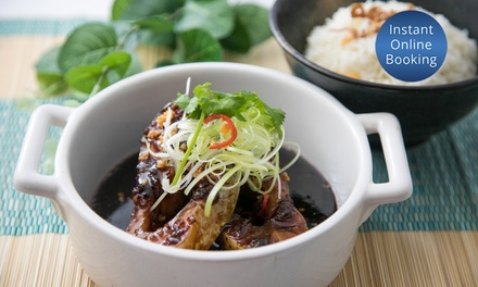 FiveCourse Vietnamese Meal for Two $45 or Four People $90 at Huong Lua Modern Vietnamese Cuisine Up to $188 Value