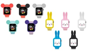 Soft Protective Case with Mouse or Rabbit Ears for Apple Watch