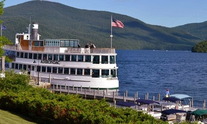 Lake George Shoreline Cruises: Two-Hour Afternoon or Evening Cruise for Two or Four from Lake George Shoreline Cruises (Up to 53% Off)