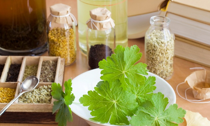 Herban Wellness - Moss Bay: Make-Your-Own Herbal Products Class for One or Two at Herban Wellness (Up to 54% Off)
