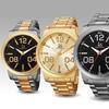 Joshua & Sons Men's Large Arabic Numerals Watch