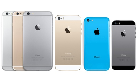 used iphone 5c refurbished iphone 5 5c 5s or 6 groupon 1698