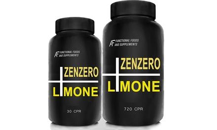 Fino a 720 compresse di zenzero e limone per più energia con estratto di semi di pompelmo sciogli grasso