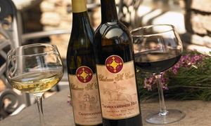 Chateau St. Croix Winery: Wine Tasting with Artisan Cheese Platter for Two or Four at Chateau St. Croix Winery (Up to 47% Off)