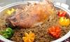 5* Lamb Ouzi Takeaway Platter
