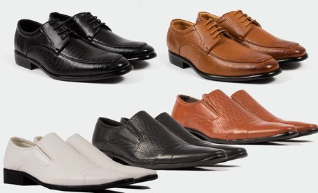 Gino Pheroni Men's Slip-On and Lace-Up Dress Shoes!