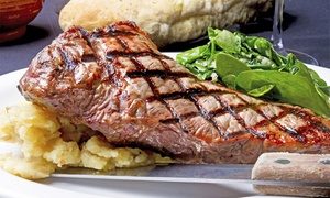 Lowlander Bar & Grill: Steak and a Pint for One ($14), Two ($27) or Four People ($52) at Lowlander Bar & Grill, Pakuranga (Up to $138 Value)