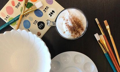 Day of Ceramic Painting or Glass Fusion for Two or Four at Loulou Céramique (Up to 55% Off)