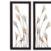 Urban Designs Handcrafted LED Metal Wall Art Set (2-Piece)