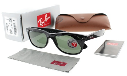 Ray-Ban Wayfarer or Aviator Sunglasses for Men and Women