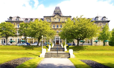 Peak District: 1 or 2 Nights for Two with Breakfast, Bottle of Wine and Option for Dinner at Palace Hotel Buxton